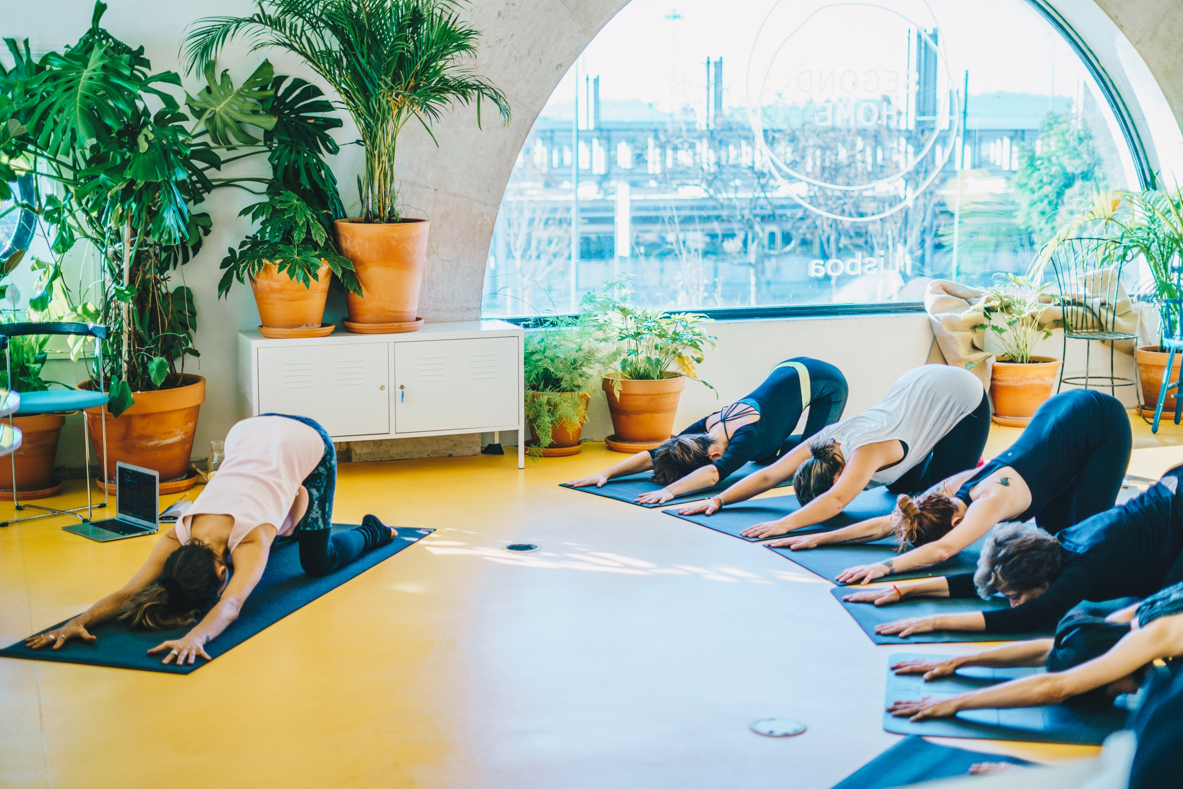 Second Home Lisbon Yoga and wellness sessions